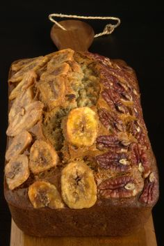 pan de platano y nuez