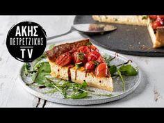 Τάρτα με τυρί κρέμα και ντοματίνια Επ. 51 | Kitchen Lab TV | Άκης Πετρετζίκης - YouTube