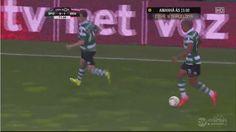 Bryan Ruiz incredible miss [Sporting vs Benfica]