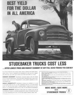 1959 Studebaker Truck - www.travisbarlow.com Insurance for towing & auto transporters for over 30 years