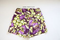 Annie P. limited edition cotton shorts