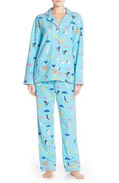 6135772c4c PJ Salvage Print Flannel Pajamas