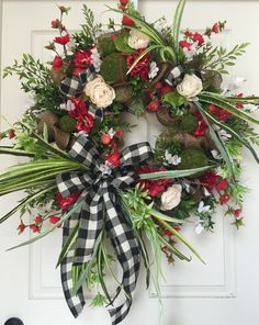 Mesh Burlap Everyday and Summer Wreath by WilliamsFloral on Etsy https://www.etsy.com/listing/238864390/mesh-burlap-everyday-and-summer-wreath