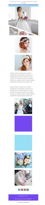 Largo, corto, palabra de honor, cuello barca... Hazte una idea de todos los vestidos con la versión responsive de las plantillas newsletter de Mailify.