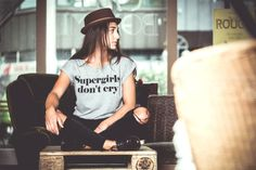 """Pop Rocky """"Supergirls Don't Cry"""" Fashion / Street Style"""