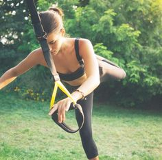 Do you do it in the yard when no one's looking? ‪#‎TRXAnywhere‬ : Instafriend Mckenzie Hayes #TRX #Fitness