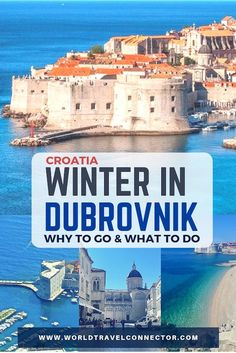 Winter in Dubrovnik? Find out why Dubrovnik is a perfect Mediterranean getaway in winter and why you should visit Dubrovnik in winter! Backpacking Europe, Europe Travel Guide, Travel Guides, Travelling Europe, European Destination, European Travel, European Trips, Places To Travel, Travel Destinations