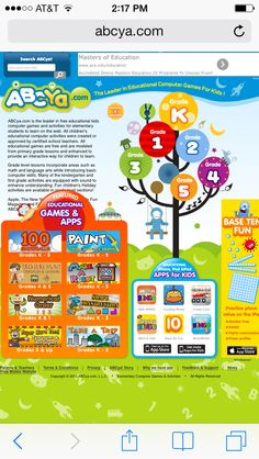 great free website with educational games for k5th grade