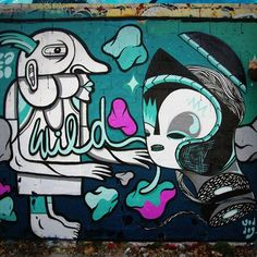 Le street-art de GoddoG ! patterns graffiti