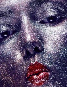 Photo Andreea Diaconu by Ben Hassett for Vogue Paris October 2015