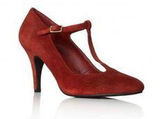 Carvela Kurt Geiger 'Bridge' shoe in dark red suede: www.shoeaholics.com