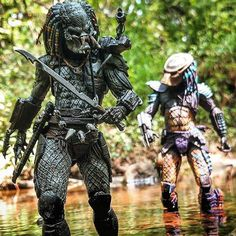 Predator Costume, Alien Vs Predator, Famous Monsters, Xenomorph, Creature Feature, Scary Movies, Toys Photography, Fantasy Artwork, Marvel Dc Comics