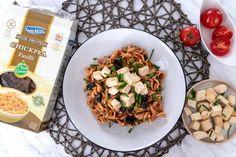 Všetky recepty   fitrecepty.sk Fusilli, Tofu, Pasta Salad, Good Food, Meat, Chicken, Yum Yum, Ethnic Recipes, Crab Pasta Salad