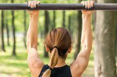 Women can do pull-ups – they just require special training.