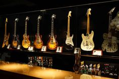 """""""Players Club of Ikebeck"""" Guitar Display, Music Store, Music Instruments, Club, House, Tents, Home, Musical Instruments, Homes"""