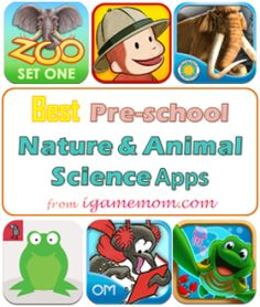 Best Preschool Animal and Natual Science Apps #apps #kidsapps #kids #preschool #science #nature #animal