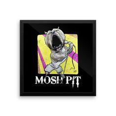 Mosh Pit Framed Poster