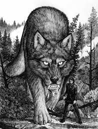 Fenrir - Wolf norse mythical creatures