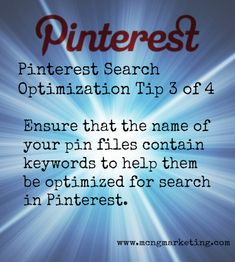 Pinterest Tips for Search Optimization 3