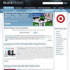 One of my fave Black Friday web sites-