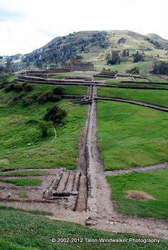 Water channels, Ingapirca