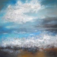 Original Abstract Painting by Ada Van Abstract Landscape, Abstract Art, Abstract Waves, Original Art, Original Paintings, Art Paintings For Sale, Seascape Paintings, Office Art, Urban Art
