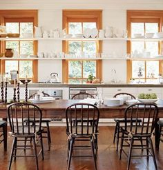 Our Kitchen Windows Are Just Like These Now...and We Have A HUGE