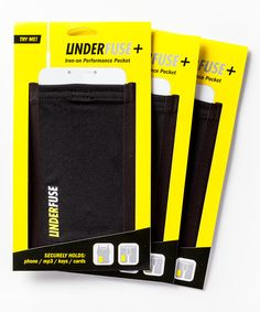 Look at this Plus Performance Pocket - Set of Three on #zulily today!