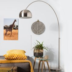Bogen-Lampe Arc silber