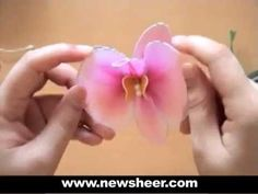 From www.newsheer.com - Nylon flower making is an art form that we feel can be done by anyone and can be brought back and modernized by this generation of cr...