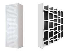Reinier de Jong - REK bookcase. Bookcase that grows with your bookcollection