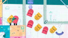Switch Longplay [002] #детская #логическая #игра Snipperclips - Cut it out, Together!