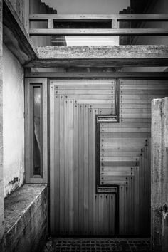 A journey through Carlo Scarpa's work in Altivole for Brion's family through black and white film. Education Architecture, Ancient Architecture, Sustainable Architecture, Architecture Details, Landscape Architecture, Carlo Scarpa, John Pawson Architect, My Building, Steven Holl