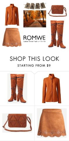 """""""Romwe #6/4"""" by s-o-polyvore ❤ liked on Polyvore featuring Lands' End"""