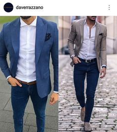 Capsule wardrobe in 2019 mens fashion blazer, fashion, men casual. Blazer Outfits Men, Mens Fashion Blazer, Outfit Jeans, Suit Fashion, Luxury Fashion, Fashion Trends, Outfit Hombre Formal, Formal Men Outfit, Business Casual Men
