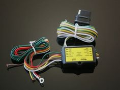 5 to 4 Motorcycle Trailer Wire Harness Converter Motorcycle Trailer, Bike Parts, Motorcycle Parts And Accessories, Wire, Diagram, Bicycle Parts, Bike Trailers, Cable