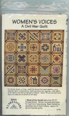 Civil war women's voices