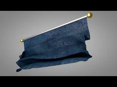 Unrolling Cloth Effect - Cinema 4D Tutorial