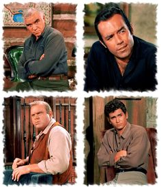 Four men, stout of heart and mind (Bonanza)
