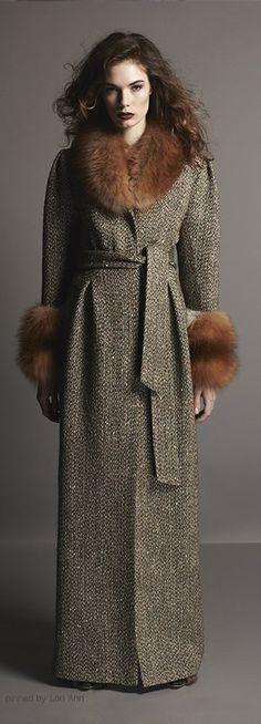 A La Russe coat.  women fashion outfit clothing stylish apparel @roressclothes closet ideas