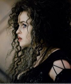 Bellatrix Lestrange (Helena Bonham Carter), uuuughhh, I love her so much...