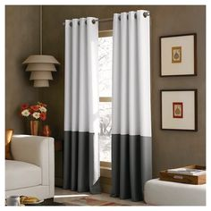 "Curtainworks Kendall Lined Curtain Panel - Cream (95"") : Target"