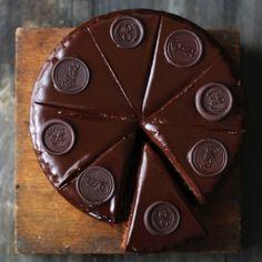 "Sacher Cake, and how to make chocolate ""wax"" seals {recipe}"
