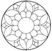 ԑ̮̑♦̮̑ɜ~Mandala para Colorear~ԑ̮̑♦̮̑ɜ for fitness videos check o. Mandala Drawing, Mandala Painting, Dot Painting, Mandala Art, Mosaic Art, Mosaic Glass, Glass Art, Stained Glass Designs, Stained Glass Patterns