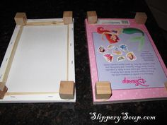 DIY Barbie bed and an awesome blog post about her making a barbie house! LOVE IT!