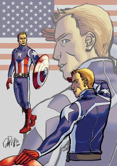 PR: Captain America by Ventimiglia.deviantart.com      Steve Rogers ~ Aka: Captain America  Is not the man as we know him he never got frozen in ice. He's not a man out of time, he's watched everyone  around him die and has become very jaded. As such he hasn't worn a mask in years and enjoys be a celebrity and bit of a jerk.