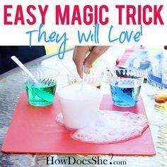 A Magic Tricks They will love