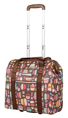 57243ace97f4 Lily Bloom Design Pattern Carry on Bag Wheeled Cabin Tote Lightweight  construction to make your travel