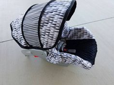 Ready to ship baby car seat cover with ties and by BABYCOVERS2010