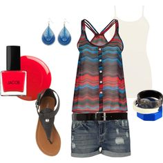 Cute for Summer ...and no item is over 50.00, created by tigerwoman37086 on Polyvore
